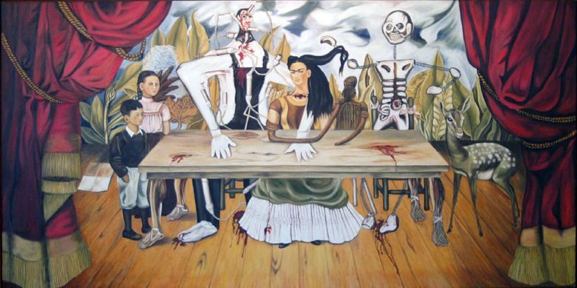 "Frida Kalo ""The Wounded Table"""