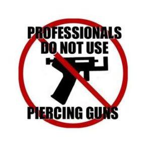 NO PIERCING GUN